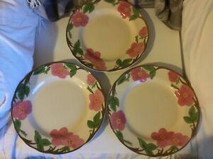 Set-of-3-Franciscan-Desert-Rose-Dinner-Plates-10-5-8-034-Wide