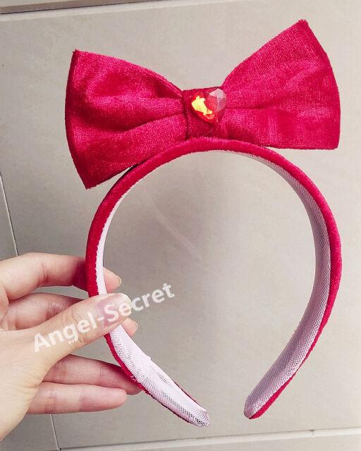 HB13 red Halloween snow white Princess Cosplay hair band Tiara Costume bow