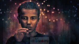 Poster 42x24 cm Stranger Things 2 Netflix Eleven Serie Cartel 01