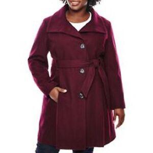 Wool Funnel 2624408 Coat Blend New Worthington Neck t65qxBFB