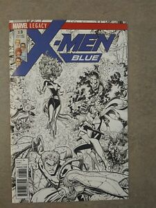 X-Men-Blue-13-B-amp-W-Variant
