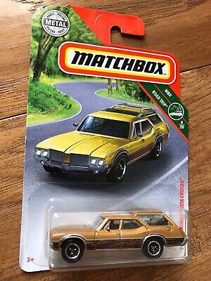 2019 Matchbox /'71 Oldsmobile Vista Cruiser #13//100 MBX Road Trip Gold