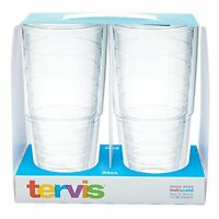 Tervis Tumbler Clear Big T Set of 2 24 Ounce Kitchen