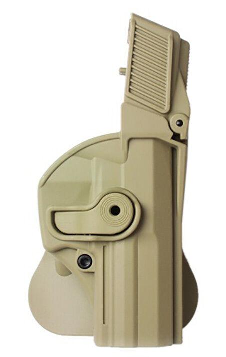 Z1440 IMI Defense FDE Bronceado Funda de retención de mano derecha H&K USP FullTalla estándar