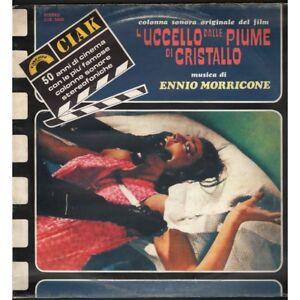 Ennio-Morricone-Lp-Vinile-L-039-Uccello-Dalle-Piume-Di-Cristallo-Cinevox-Nuovo