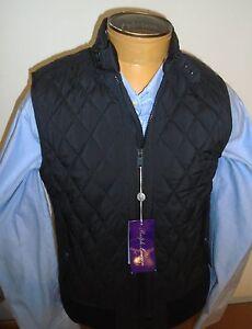 Ralph-Lauren-Purple-Label-Fairfield-Quilted-Vest-NWT-Small-995-Black