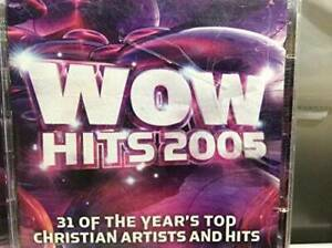 Wow-Hits-2005-31-of-the-Year-039-s-Top-Christian-Artist-and-Hits-Audio-CD-GOOD