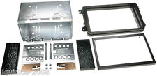 VOLKSWAGEN VW CADDY 2004 > BLACK DOUBLE  DIN STEREO FITTING KIT FACIA PANEL