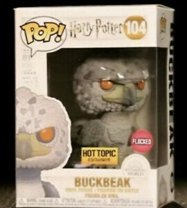 Funko Pop Buckbeak flocked harry Potter hot topic exclusive