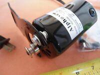 Alphasew Universal Home Sewing Machine Motor Black 110v 0.9a 7000rpm 90w Bracket