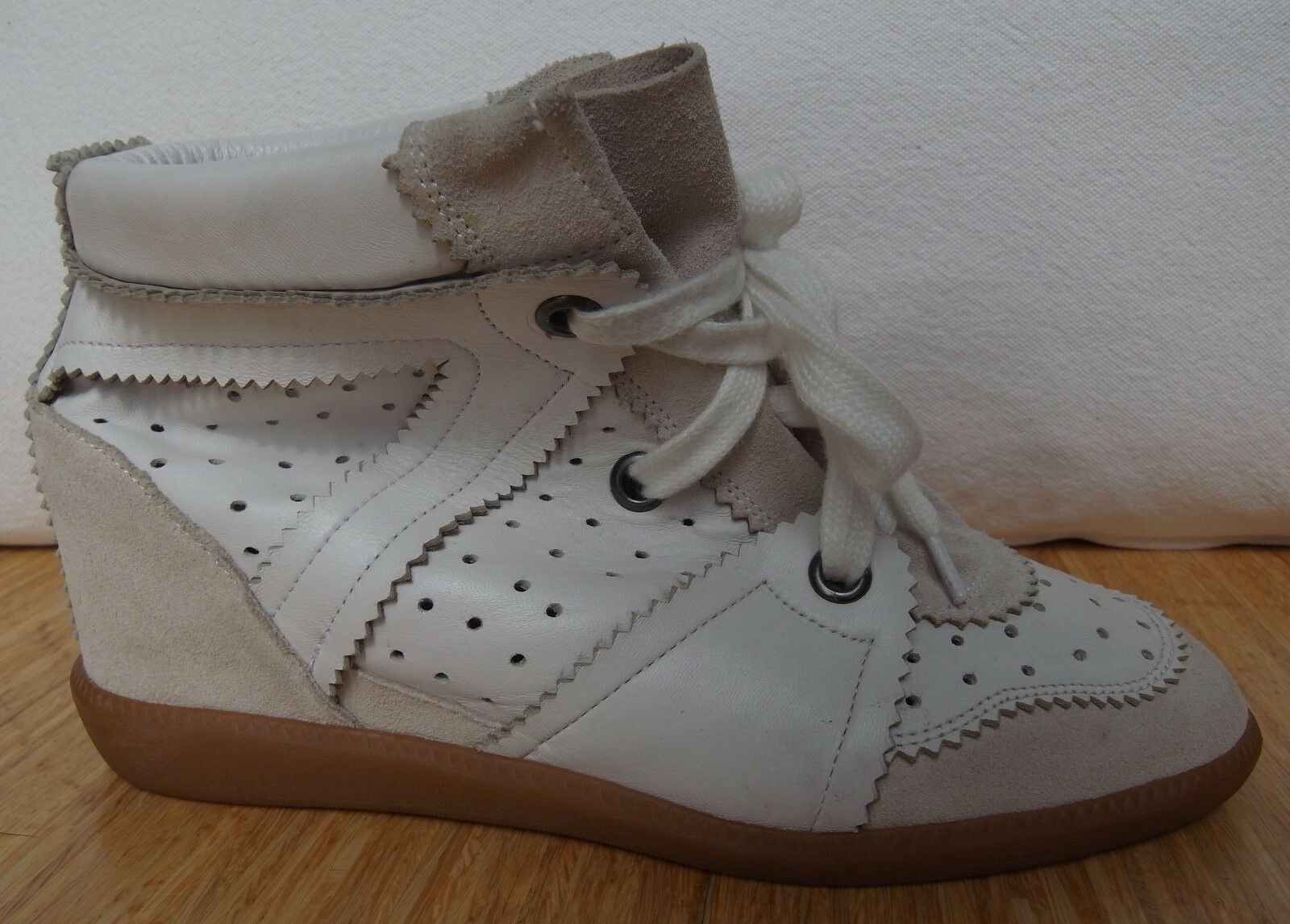 ISABEL Creme MARANT Betty Sneaker Weiß Creme ISABEL Gr. 40 cb1e3d