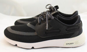 03f3aa6b1eff New Sperry Size 8 (US) 7 Seas 3 Eye Black Women s Sneakers STS98966 ...
