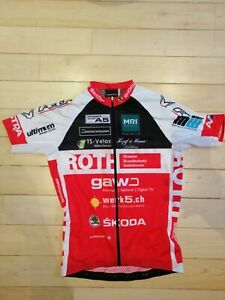Maillot-cyclisme-wieler-trui-cycling-jersey-worn-porte-YANNICK-ECKMANN