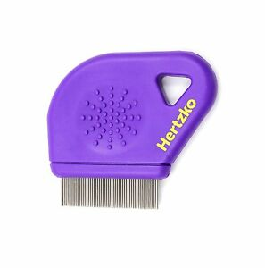 Flea-Comb-By-Hertzko-Closely-Spaced-Metal-Pins-Removes-Fleas-Flea-Eggs-an