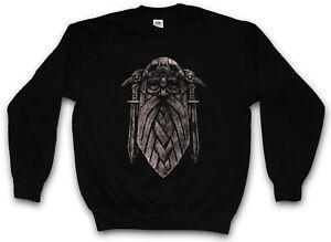 Ix Valhalla Norse Felpa Thor tedesco Vikings Odin Odhin Dio Pullover vqwdT6x77