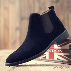 top Casual Low heel Ankle Boots Slip