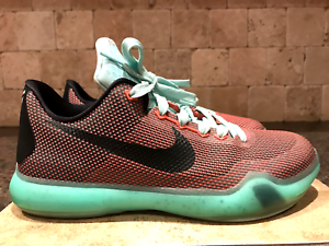 low cost 8c757 d18f6 Image is loading NIKE-KOBE-X-EASTER-BASKETBALL-SHOES-SNEAKERS-SIZE-