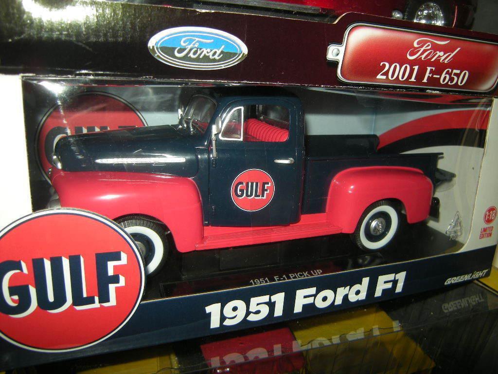 1 18 Greenlight Ford F1 1951 GULF OVP