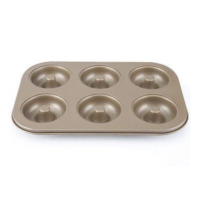 Nonstick Doughnut Donut Pan Maker 6 Cup Cake Oven Mould