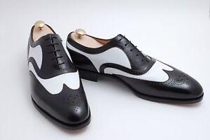 Wingtip blanches formelles pour tons Chaussures hommes Oxford noires chaussures chaussures deux hommes pour et H0O6qn