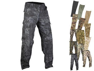MFH US Army Hose BDU Cargo Hose Arbeitshose Outdoorhose lang coyote S bis XXXL