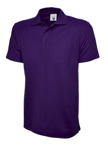 Colours /& 100/% Plain 101 Mens Classic Plain Polo T Shirt Size XS to 4XL in 16