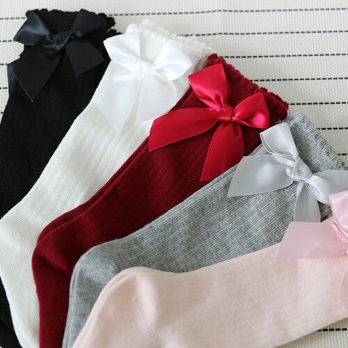 Tights Socks Stocking Pantyhose Above Knee Long Soft Cotton Warm Kid Baby Girl