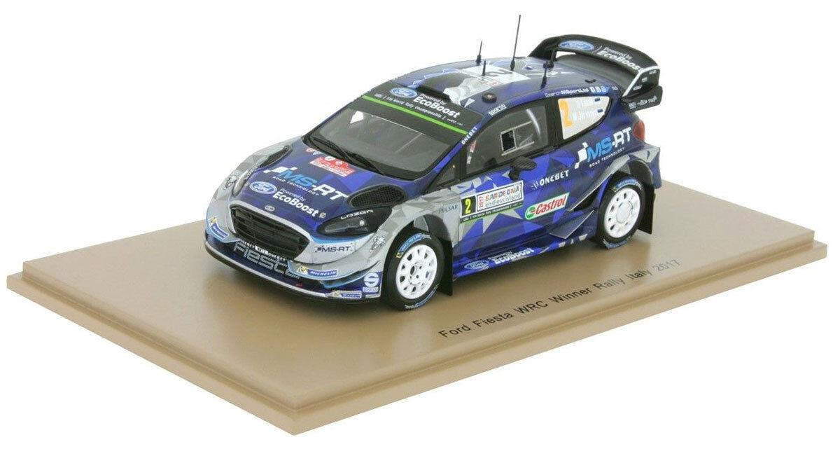 SPARK S5167 FORD FIESTA WRC-17 WRC-17 WRC-17 Winner Italian Rally 2017-OTT Tanak échelle 1/43 | Online Store  efbed9