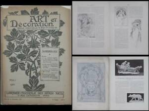 Art Et Decoration Mai 1900 - Mucha