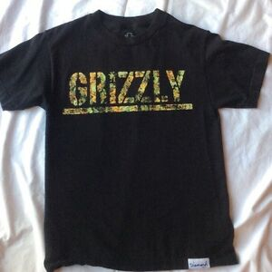ce172353be7 Diamond Supply Co Grizzly Griptape Black T Shirt Men s Small - Camo ...
