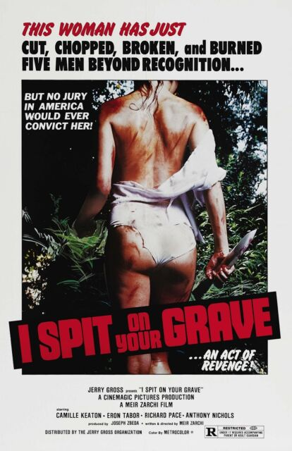 I Spit On Your Grave movie poster - Cult Horror  -  11 x 17 inches