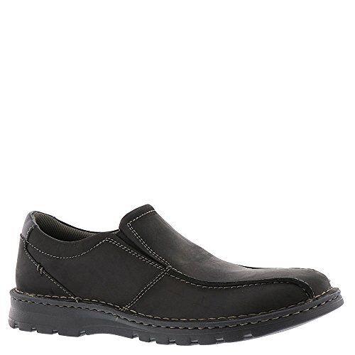 8f666fdded1 Clarks Vanek Step 26128421 Black Mens US Size 11.5 UK 11