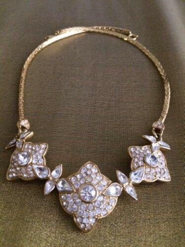 Gifts For Her Vintage Trifari Crystal Necklace Vintage Rhinestone Crystals Wedding Bridal Trifari Crystal Choker