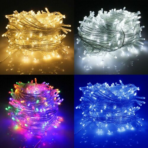 10-100M String Fairy Lights LED Xmas Christmas Light Party Wedding Outdoor Lamp