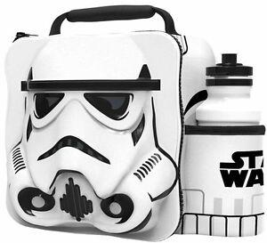 Oficial-Star-Wars-Termico-3d-TROPAS-DE-ASALTO-Fiambrera-amp-Botella-Juego