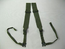 """BRITISH ARMY WW2 PARA SHOULDER STRAPS P44 'L-STRAPS"""" dated 1945 ME Co."""