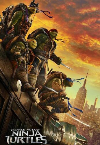 Maxi Poster 61cm X 91.5cm Neu eine Blatt Teenage Mutant Ninja Turtles 2