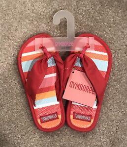 NWT Gymboree Girls Wedge Ruffle Sandals Flip Flops Size Baby 05-6 Youth 9-10