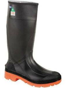 Mens-CSA-Approved-Steel-Toed-Safety-Rubber-Boots-Size-14-Servus-Honeywell