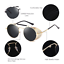 Men Women Round Metal Frame Punk Style Sunglasses Outdoor Fashion Party Glasses