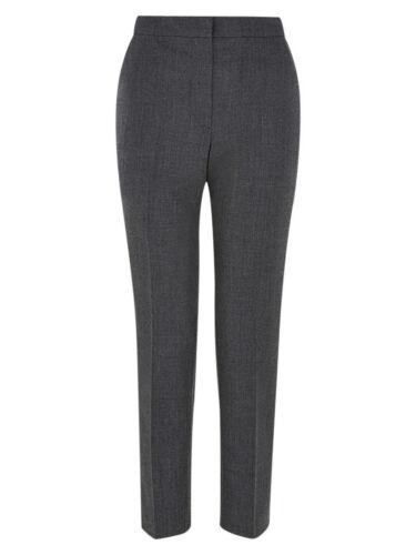 RRP £119 BNWT. Hobbs Marlina Grey Melange Trousers Various Sizes