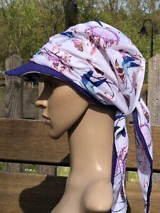 Schirmtuch zum Binden Schirmmütze Kopftuch Bandana Sommerhut Sonnenschutz Cabrio