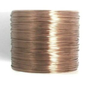 Copper Coloured Copper Wire 0.4mm BX19 approx 1mtrs UK Seller Free Postage