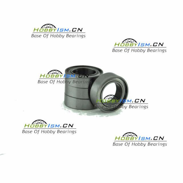 1 pc - 440C Stainless Steel Radial Ball Bearing 6x10x3mm ABEC-7 SMR106 ZZ