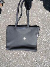 "ONE Nine West purse NEW bag laptop lap top carrier black 17.5"" strap handbag bag"