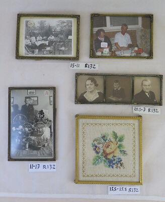 Muebles Antiguos Y Decoración Cinco Marcos Para Fotos Vintage Comienza Del Siglo Xx Marco R132 Espejos