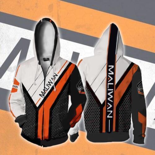 Borderlands 2 Avator Maliwan 3D Printed Zip Up Hoodie FF.145