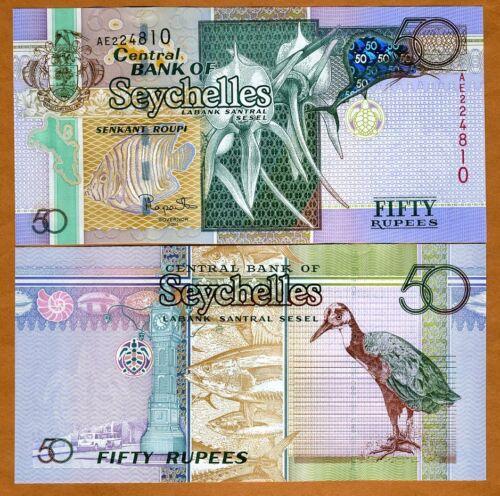 UNC /> Hologram 2011 P-42 Seychelles 50 rupees