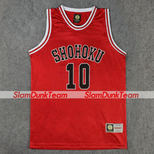 SLAM DUNK Shohoku No 1-15 Basketball Sakuragi Jersey Athletic Costume Cosplay