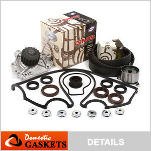 96-01-Acura-Integra-1-8L-Honda-CRV-2-0L-Timing-Belt-GMB-Water-Pump-Valve-Cover
